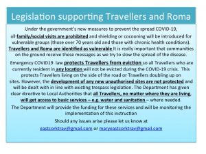 ew legislation to protect Traveller and Roma